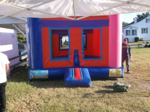 You can't have Family Fun Day without a bounce house!